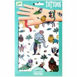 Djeco Temporary Tattoos - Beasties
