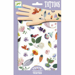 Djeco Temporary Tattoos - In Flight
