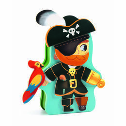 Djeco Pirate Magnetic Box Game - Aventura
