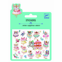 Djeco Mini Puffy Stickers - Fairies