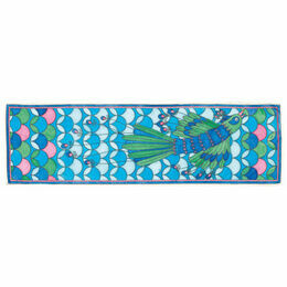 Djeco Peacock Silk Scarf Painting Kit