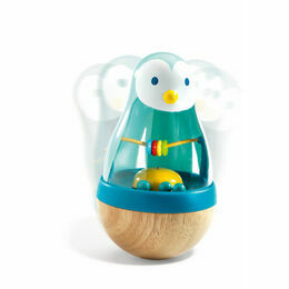 Djeco Roly Poly Penguin Early Development Toy - Roly Pingui