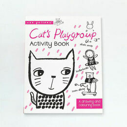 Wee Gallery Cat's Playgroup Activity Book