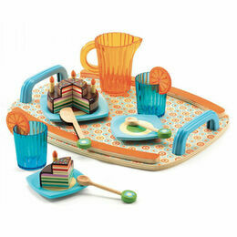Djeco Wooden Tea Set - Gaby's Tea Party Set