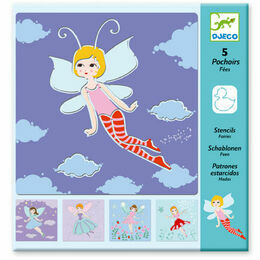 Djeco Stencil Set - Fairies