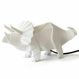 Disaster Designs Origami Dinosaur Light - White
