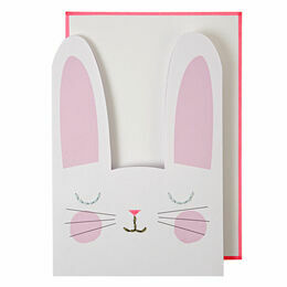 Meri Meri Stitched Bunny Greeting Card