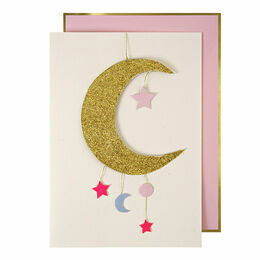 Meri Meri Baby Girl Mobile Greeting Card