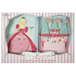 Meri Meri I'm a Princess Party Invitations & Thank You Notes