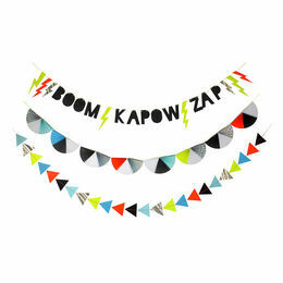 Meri Meri Zap! Party Garland