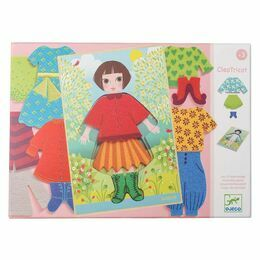 Djeco Wooden Dress-up Set - Cleo Tricot