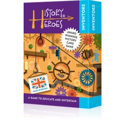 History Heroes Card Game - Inventors