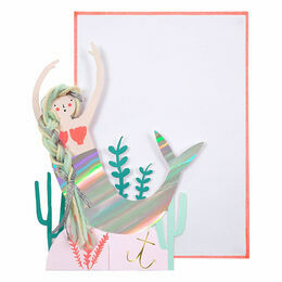 Meri Meri Mermaid Scene Greeting Card