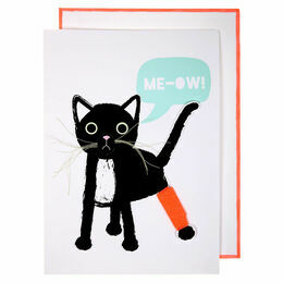 Meri Meri Me-Ow! Greeting Card