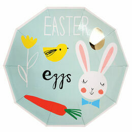 Meri Meri Easter Eggs Party Plates
