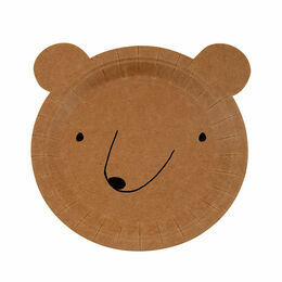 Meri Meri Small Bear Party Plate