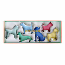 Meri Meri Cute Dogs Cookie Cutters