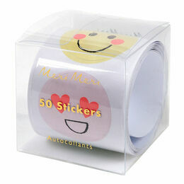 Meri Meri Emoji Roll of 50 Stickers