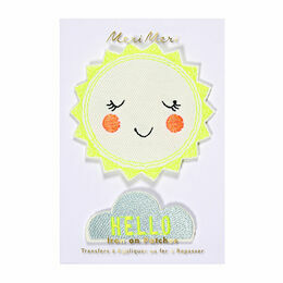 Meri Meri Hello Sunshine Iron-on Patches