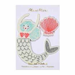 Meri Meri Mermaid Iron-on Patches