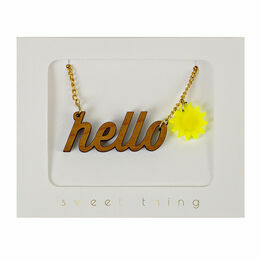Meri Meri Hello Sunshine Necklace