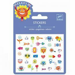 Djeco Mini Stickers - Symbols