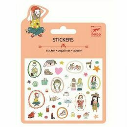 Djeco Mini Stickers - Fashion