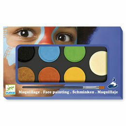 Djeco Face Painting Kit - Nature Colours