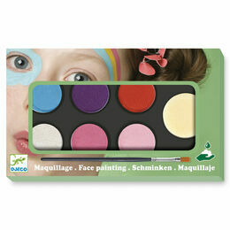 Djeco Face Painting Kit - Sweet Colours