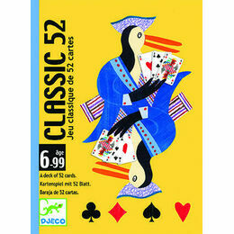 Djeco Classic 52 set of Playing Cards