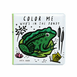 Colour Me Bath Book - Pond