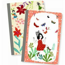 Djeco Set of 2 Notebooks - Chichi