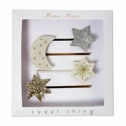 Meri Meri Set of Moon & Stars Hair Slides
