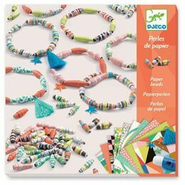 Djeco Paper Beads Workshop - Spring Bracelets