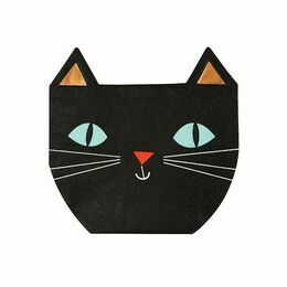 Meri Meri Creepy Cat Napkin