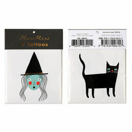 Meri Meri Witch & Cat Tattoos