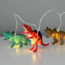 Bright Dinosaur String of Lights