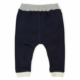 Baby Pants / Trousers - Navy & Natural