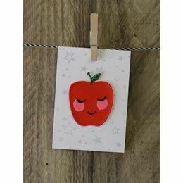 Iron - on Patch - Apple