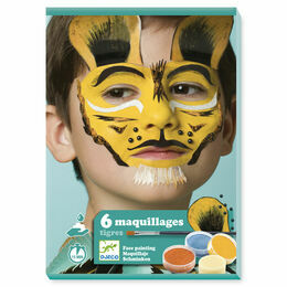 Djeco Face Painting Kit - Tiger
