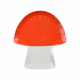 Toadstool Paper Party Plates
