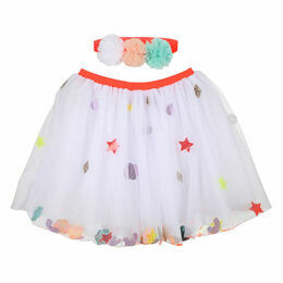 Pom Pom Headband and Tutu Dress-up Kit