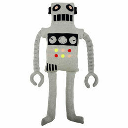 Large Robot Knitted Toy