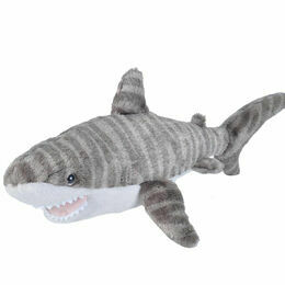 Mini Tiger Shark Cuddlekin Soft Toy - 20 cm