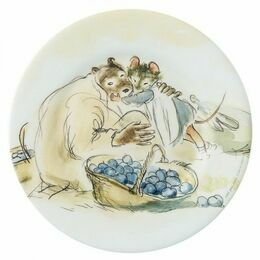 Ernest & Celestine Side Plate - Harvesting Fruit