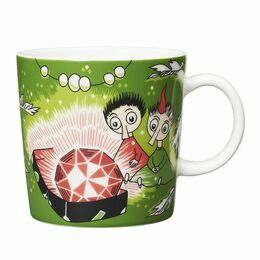 Moomin Thingumy & Bob Bright Green Mug