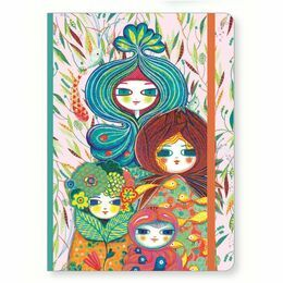 Djeco Notebook with Elastic Closure - Muriel