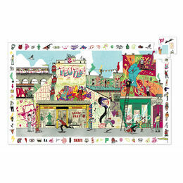 Djeco Street Art 200 Piece Observation Puzzle