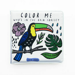 Wee Gallery Bath Book - Rainforest