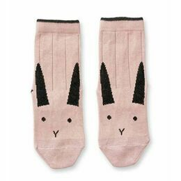 Rabbit Silas Cotton Socks - Rose